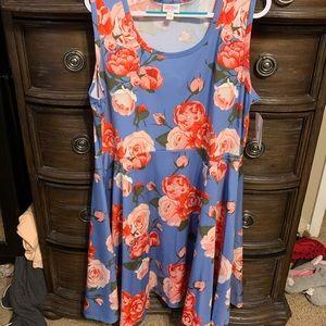 LuLaRoe 3x Nicole dress NWT